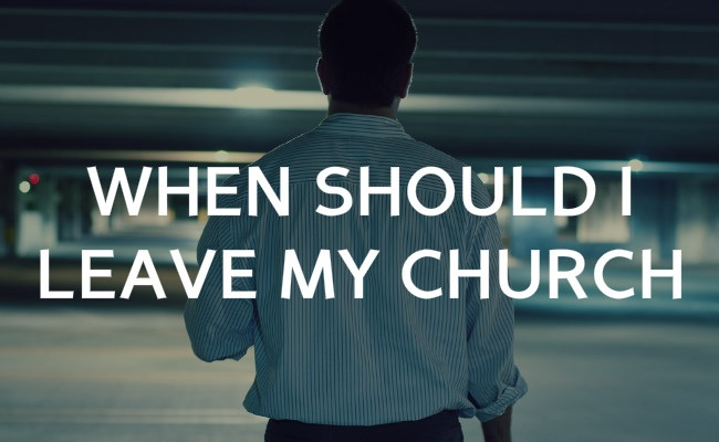 Changing Churches: Part 1- Why We Left - A Hundred Affections
