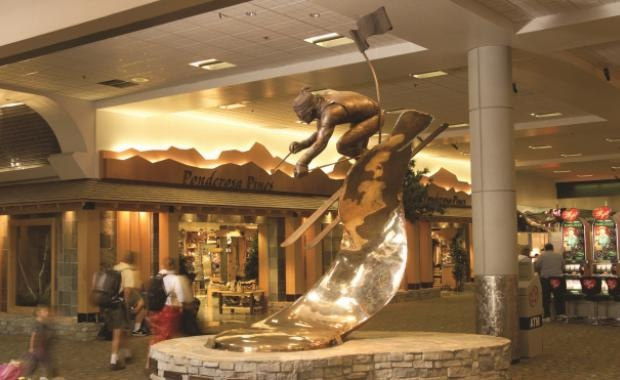 Inside Reno Airport (Photo credit: skilaketahoe.com)