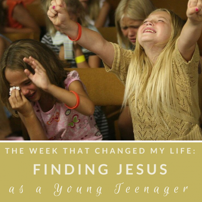 finding jesus as a teenager