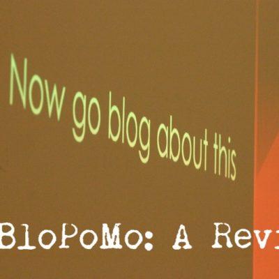 NaBloPoMo: A Review