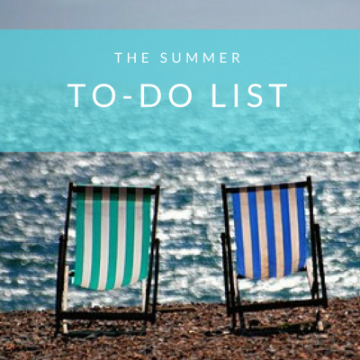 The Summer To-Do List