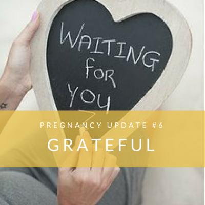 Pregnancy #3, Update #6: Grateful