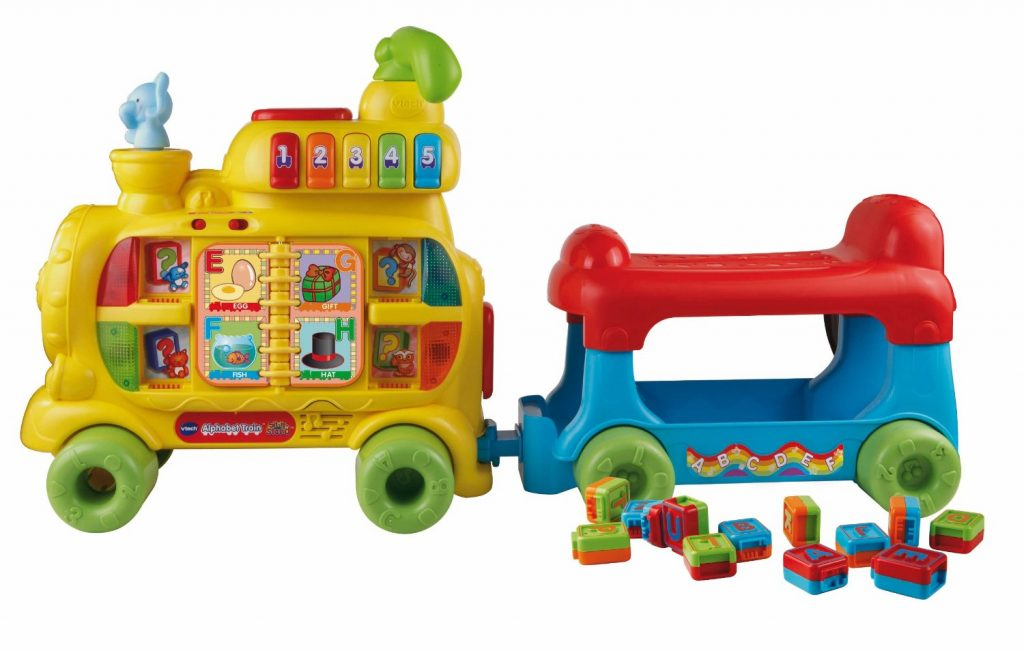 VTech Sit to Stand Alphabet Train - - the perfect gift for mobile babies ages 9-24 months