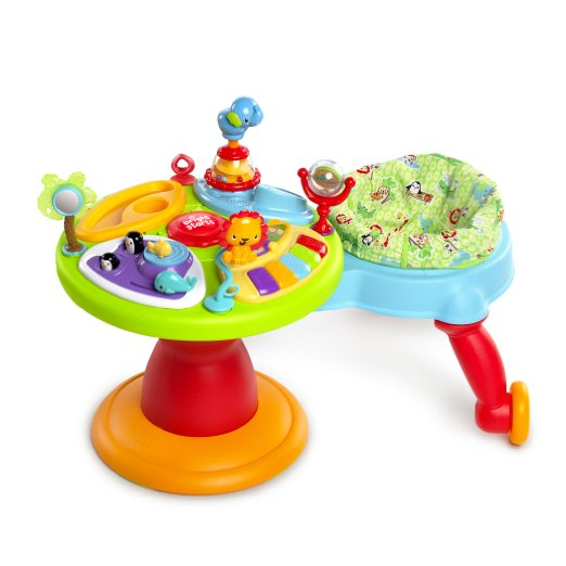 Bright Starts Around We Go 3-in-1 Activity Center Zippity Zoo - the perfect gift for mobile babies ages 9-24 months