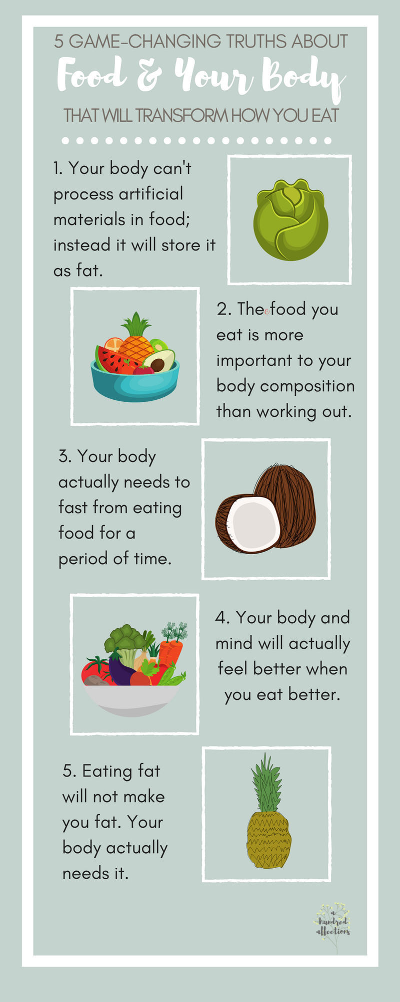 5 game changing truths about food and your body that will transform how you eat