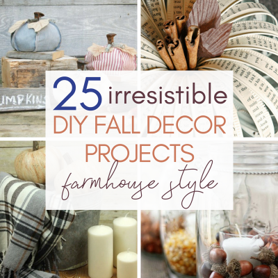 25 Irresistable DIY Fall Decor Projects – Farmhouse Style