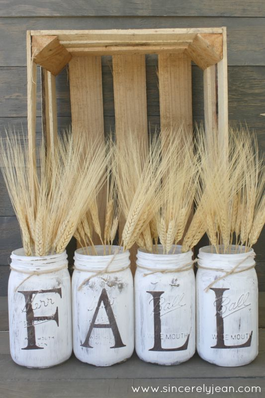 25 Irresistable Diy Fall Decor Projects Farmhouse Style