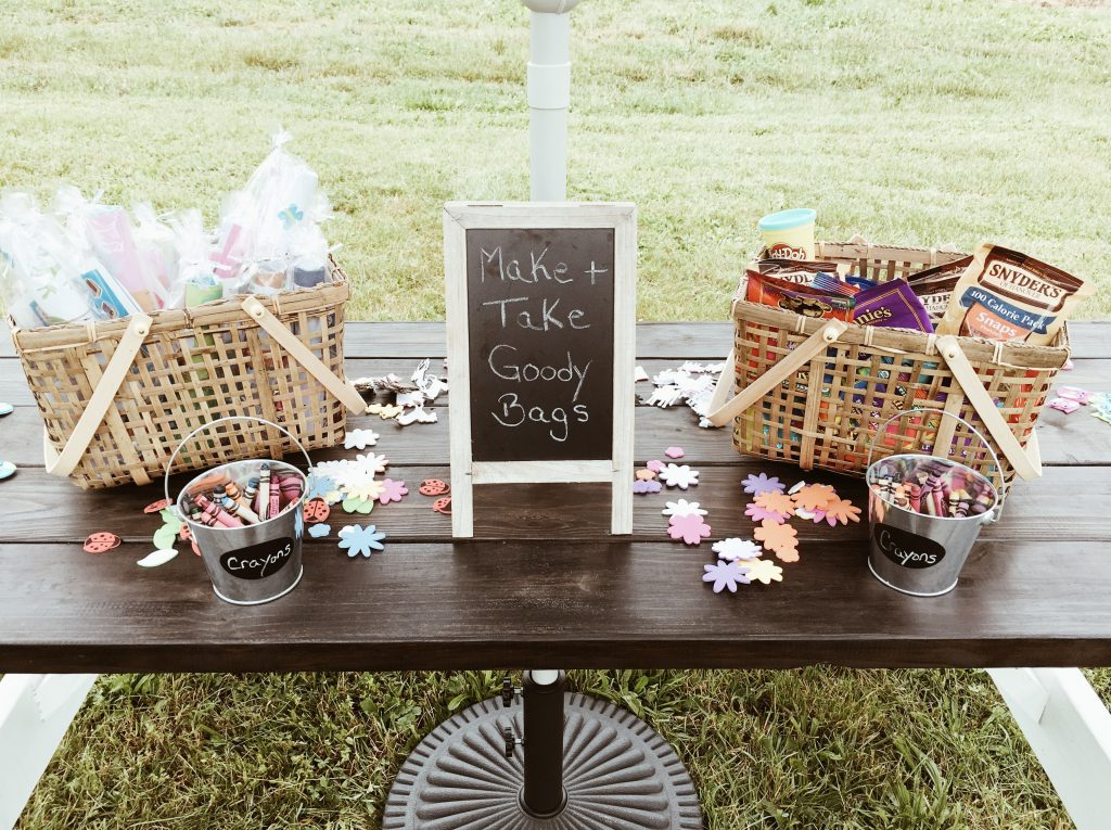 goodie bags + farmhouse birthday party on a budget boys girls indoor outdoor
