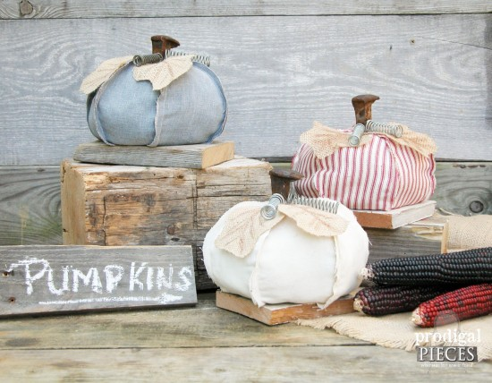Repurposed pumpkins - Decorating your home for autumn doesn't have to break your bank. Here are 25 of the prettiest DIY Fall Decor Projects that you can create yourself for a fraction of the cost.  These are my favorite picks for the best rustic farmhouse decor for fall!