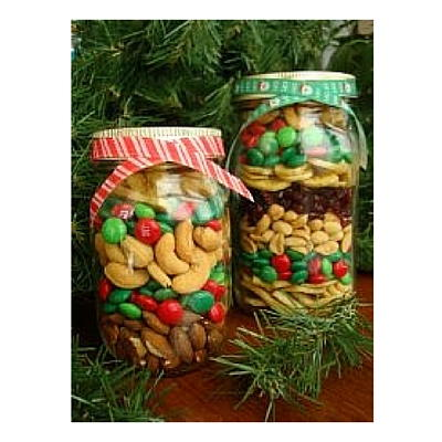 Christmas Candy Jar Crafts