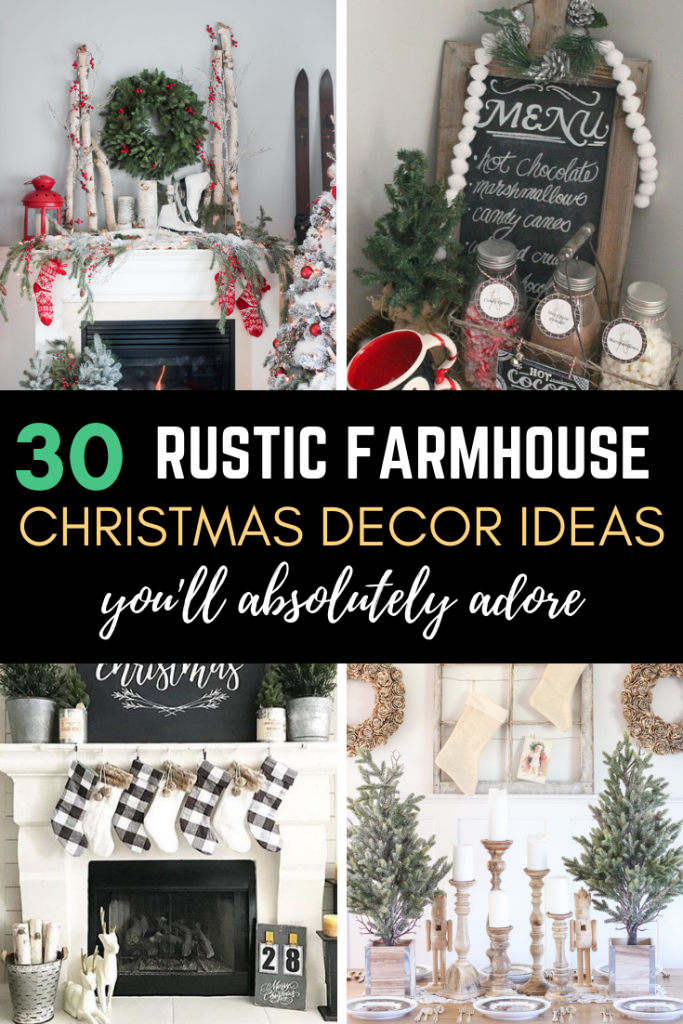 b0e3f9cff6 Buyer's Guide included! Yay! Christmas! If you love rustic farmhouse decor,  you will love these Christmas