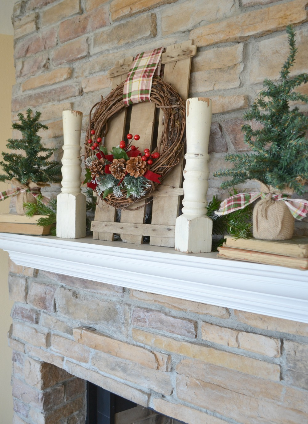 30 Rustic Farmhouse Christmas Diy Projects A Hundred