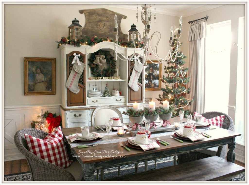 29 french farmhouse vintage christmas from from my front porch to yours - Farmhouse Christmas