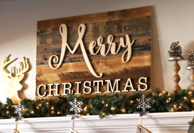 30 Rustic Farmhouse Christmas DIY Projects