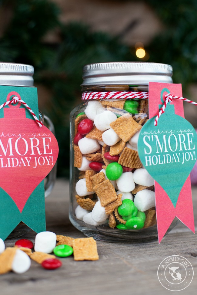 food mason jar gifts