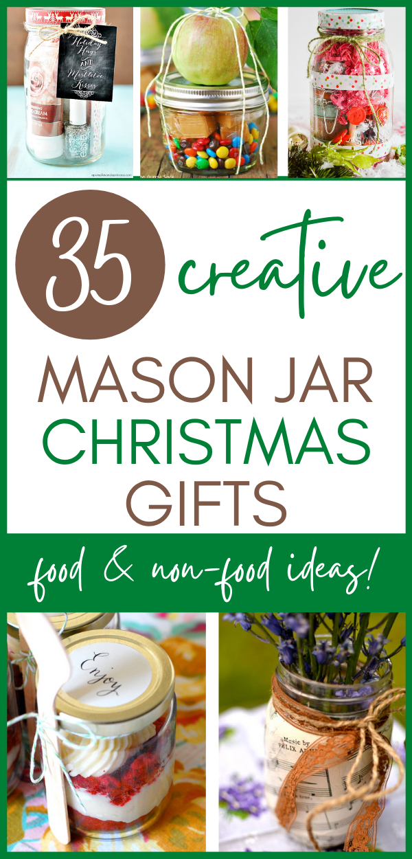 35 Diy Mason Jars Christmas Gifts A Hundred Affections