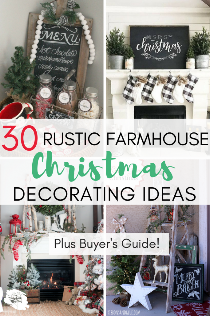 the word home has stirred up some bittersweet thoughts for me this season currently we are living in our home out of boxes back in the spring - Farmhouse Christmas Decorating Ideas