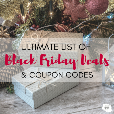 Ultimate List of Black Friday Deals and Coupons