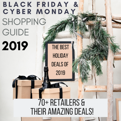 Black Friday   Cyber Monday Holiday Shopping Guide 2019