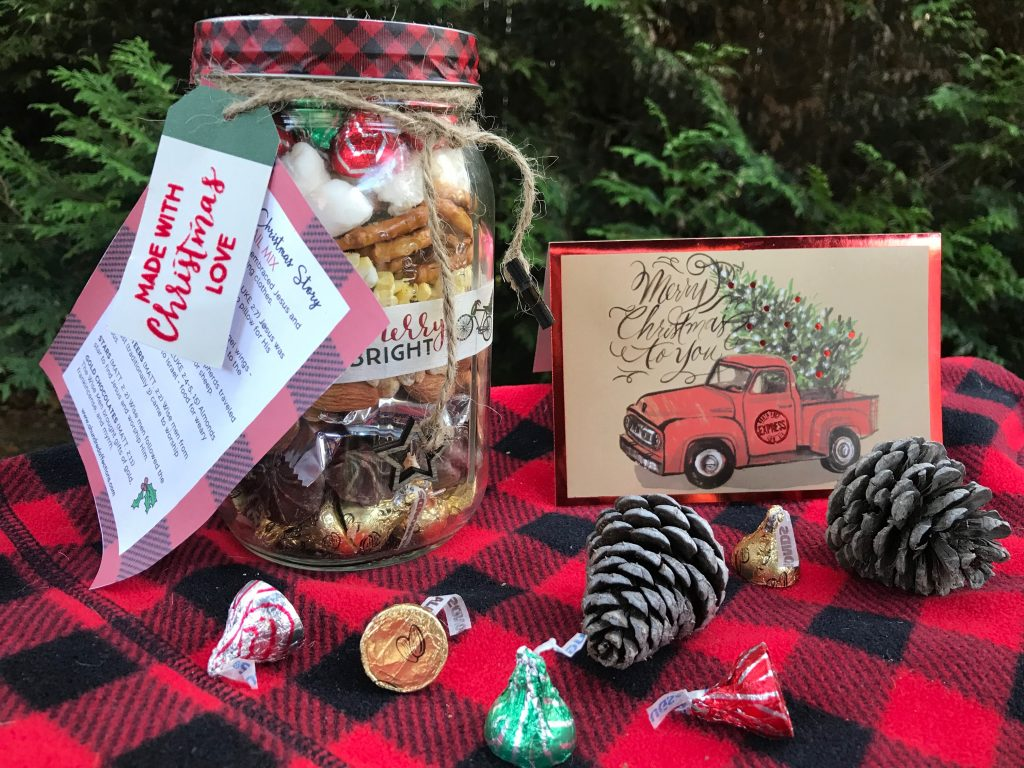 This easy, inexpensive Nativity Trail Mix is perfect as a mason jar gift or a treat for a Christmas get-together, sharing the true meaning of Christmas!