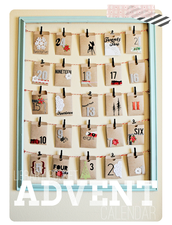 Unique Advent Calendar Ideas : Unique advent calendars free printable with