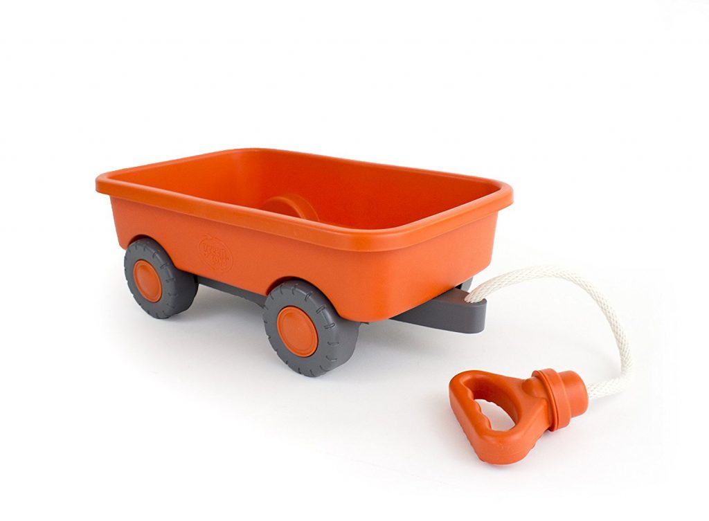 Plastic Toy Wagon + Holiday Gift Guide for Boy Toddlers 2 & 3 years old