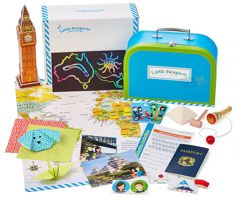 Little Passports - Struggling to find a unique gift for kids? Subscription boxes are the way to go! Here are 20+ of the best and most unique ones available!