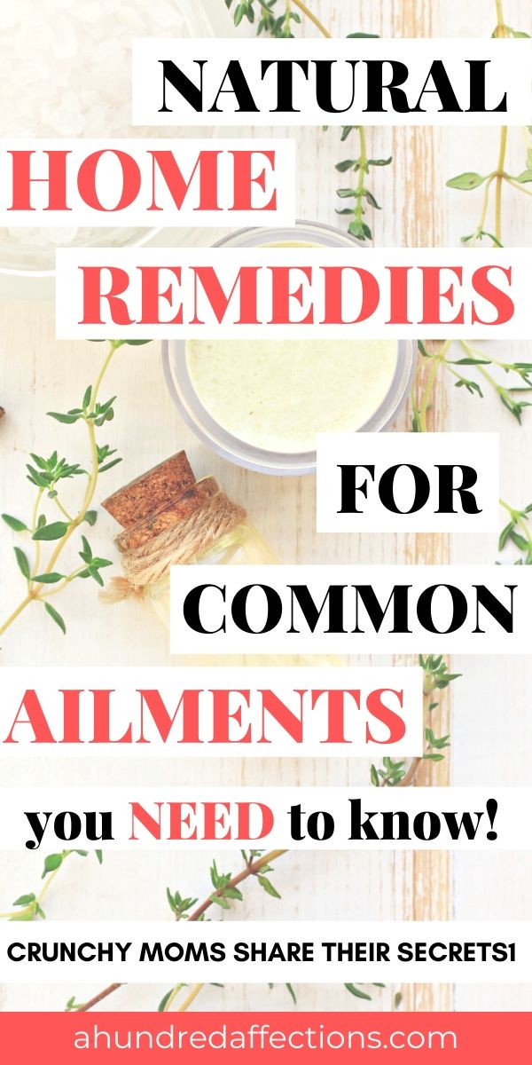 must know natural home remedy for common ailments image with free printable pdf