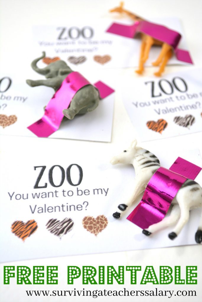 25+ Clever and Cute Valentine\'s Day Classroom Cards for Kids ({with ...