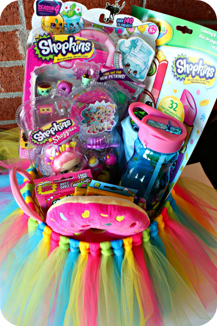45 creative easter basket ideas that arent actually baskets a girls shopkins tutu basket if you are looking for something fun and creative and out negle Images