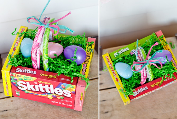 Edible easter basket if you are looking for something fun and edible easter basket with candy if you are looking for something fun and creative and negle Images