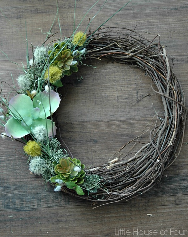 25 Charming Rustic Spring Wreath Diy Projects A Hundred Affections