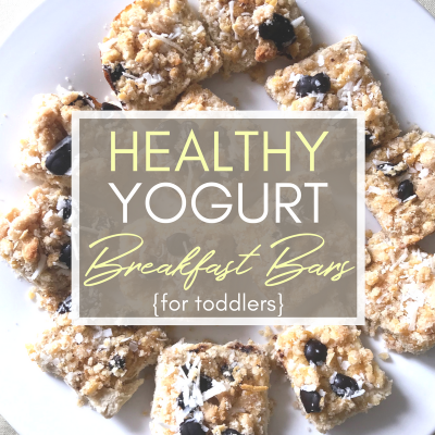Healthy Yogurt Breakfast Bars that Your Picky Toddler Will Love!