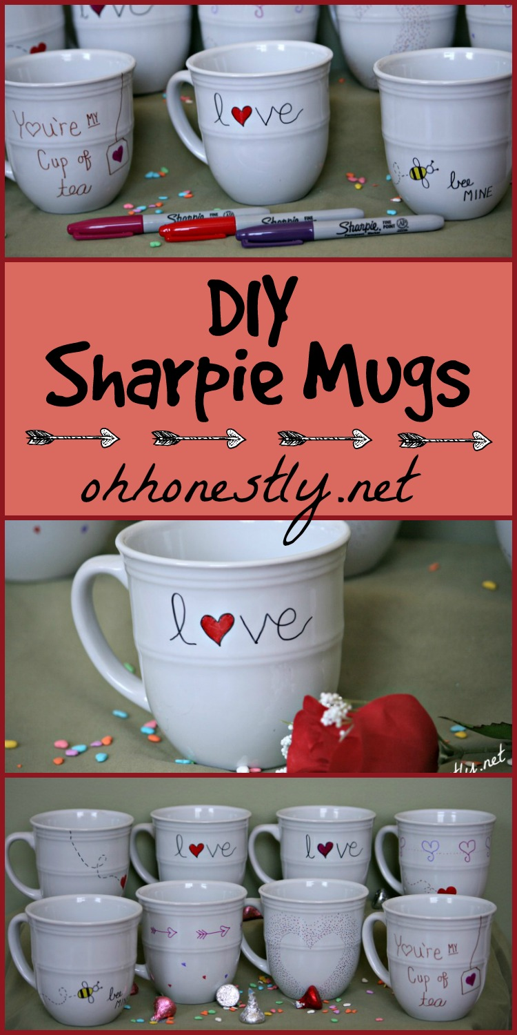 sharpie mugs for grandma - With Mother's Day right around the corner, we can't forget the special woman who started it all - Grandma! Kids are so fortunate if they have a grandma in their lives. These Mother's Day crafts for Grandma are such a heartfelt way to show her some well-deserved love!