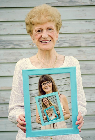 generational picture for grandma - With Mother's Day right around the corner, we can't forget the special woman who started it all - Grandma! Kids are so fortunate if they have a grandma in their lives. These Mother's Day crafts for Grandma are such a heartfelt way to show her some well-deserved love!