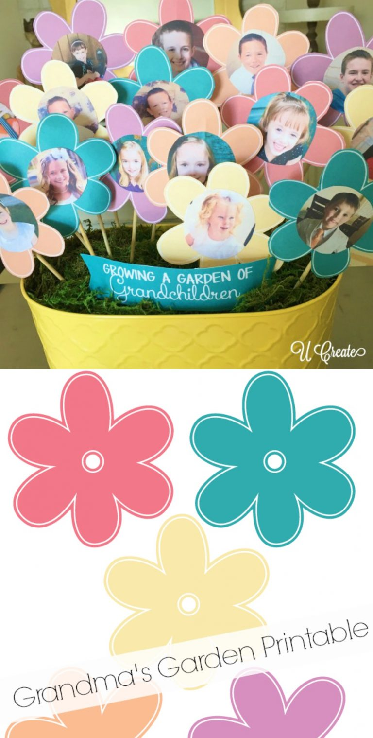 grandma bouquet picture garden - With Mother's Day right around the corner, we can't forget the special woman who started it all - Grandma! Kids are so fortunate if they have a grandma in their lives. These Mother's Day crafts for Grandma are such a heartfelt way to show her some well-deserved love!