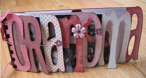 homemade grandma photo album - With Mother's Day right around the corner, we can't forget the special woman who started it all - Grandma! Kids are so fortunate if they have a grandma in their lives. These Mother's Day crafts for Grandma are such a heartfelt way to show her some well-deserved love!