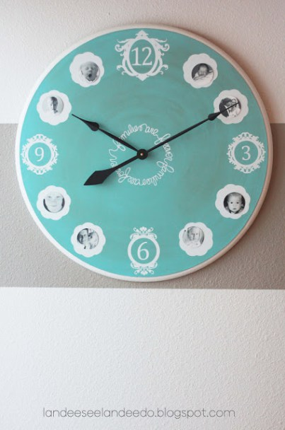 picture clock for grandma - With Mother's Day right around the corner, we can't forget the special woman who started it all - Grandma! Kids are so fortunate if they have a grandma in their lives. These Mother's Day crafts for Grandma are such a heartfelt way to show her some well-deserved love!