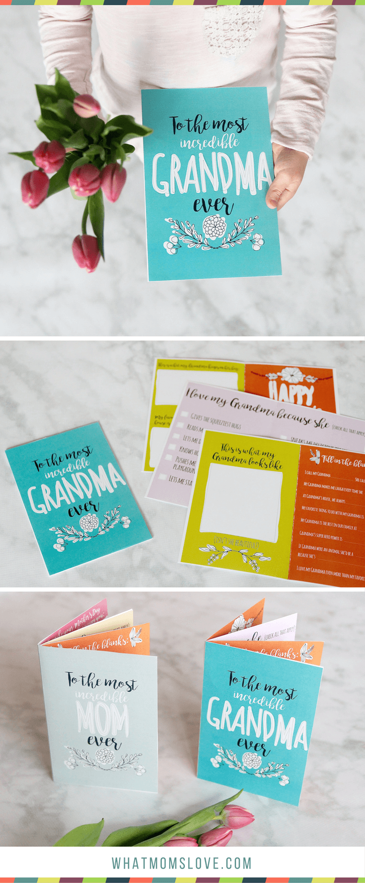printable booklet for grandma - With Mother's Day right around the corner, we can't forget the special woman who started it all - Grandma! Kids are so fortunate if they have a grandma in their lives. These Mother's Day crafts for Grandma are such a heartfelt way to show her some well-deserved love!