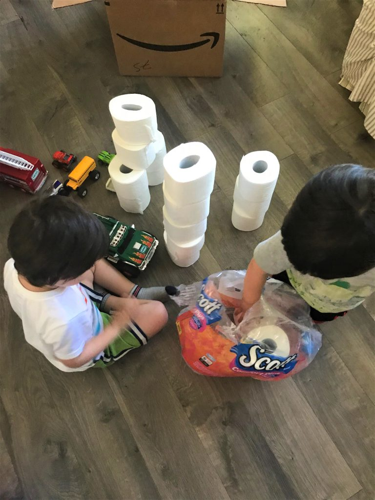 Sometimes toddler mom hacks come in unexpected places! You never know what will save the day and become your new mom secret weapon! Keep reading to see what worked for me and my twin toddlers! #scottnascarsweeps #homehacks #motherhood #toddlerhood #amazon #subscribeandsave #kids #parenting #scottproducts
