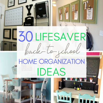 30 Lifesaver Back-to-School Organization Ideas for the Home
