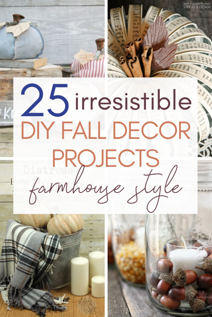 Welcome sign - Decorating your home for autumn doesn't have to break your bank. Here are 25 of the prettiest DIY Fall Decor Projects that you can create yourself for a fraction of the cost.  These are my favorite picks for the best rustic farmhouse decor for fall!