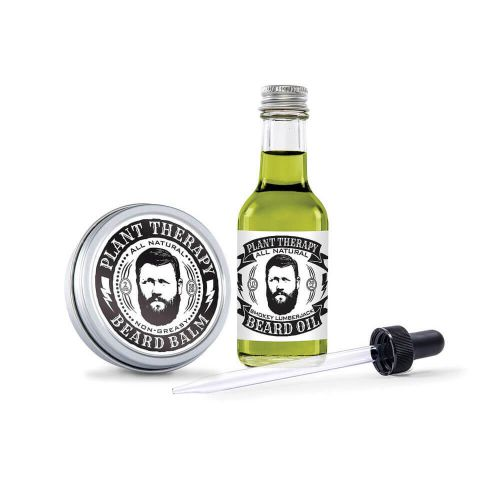 Plant Therapy Beard Balm and Beard Oil Product - a perfect gift for crunchy family and friends.