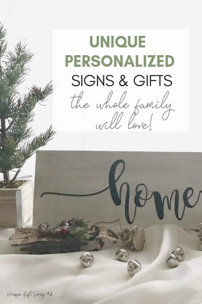 Unique Personalized Signs and Gifts - Looking for a personalized gift that is really special? These beautiful personalized signs and gifts are unique and custom-designed! Keep reading for more!