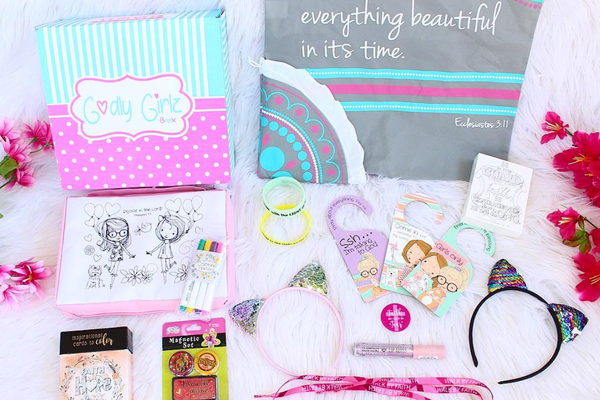 Godly Girlz - Struggling to find a unique gift for kids? Subscription boxes are the way to go! Here are 20+ of the best and most unique ones available!