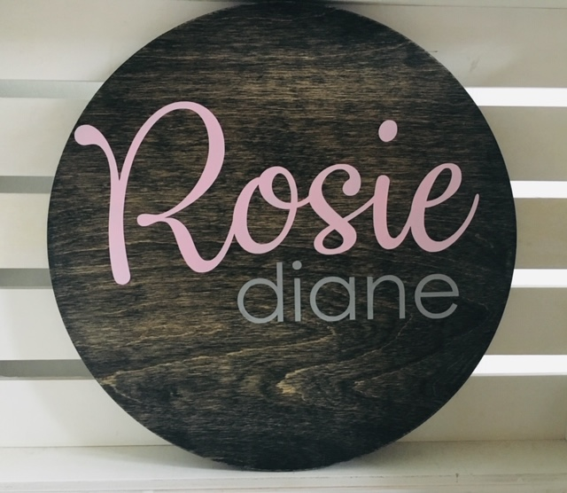 Custom wood baby nursery name sign - Looking for a personalized gift that is really special? These beautiful personalized signs and gifts are unique and custom-designed! Keep reading for more!