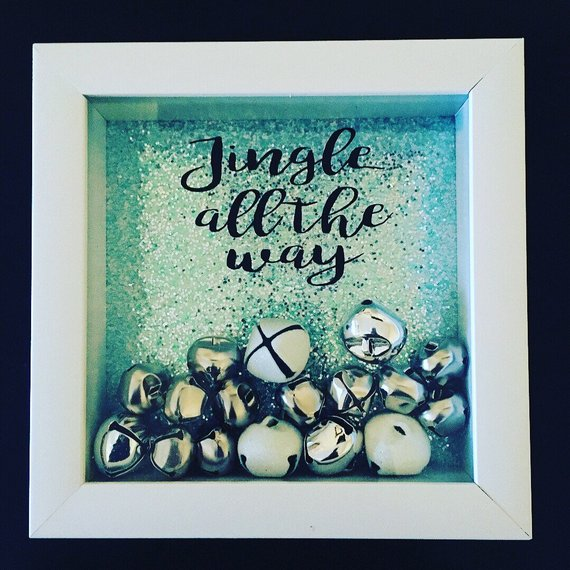Jingle all the way shadowbox - Looking for a personalized gift that is really special? These beautiful personalized signs and gifts are unique and custom-designed! Keep reading for more!