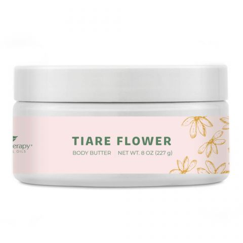 Plant Therapy Tiare Flower Body Butter product - a perfect gift for crunchy family and friends.