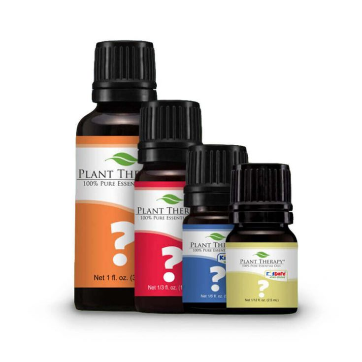 Display of Plant Therapy Oils for Mystery Oil of the Month Club - a perfect gift for crunchy family and friends.