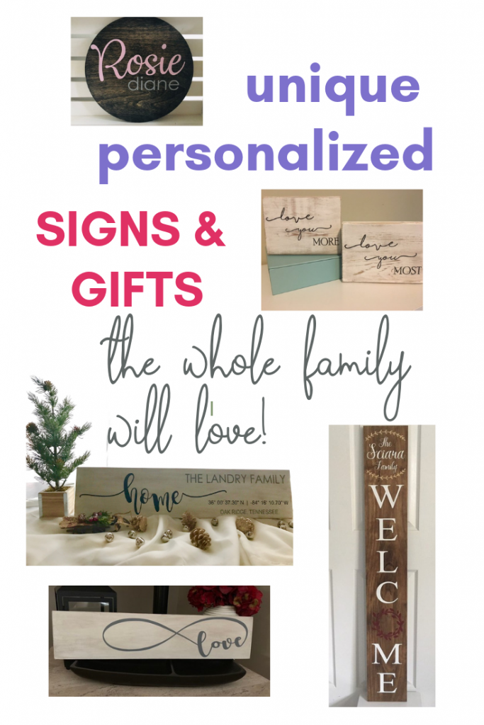 Looking for a personalized gift that is really special? These beautiful personalized signs and gifts are unique and custom-designed! Keep reading for more!